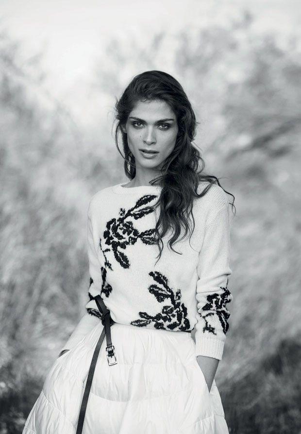 Elisa Sednaoui For Ermanno Scervino Fall Winter 2015