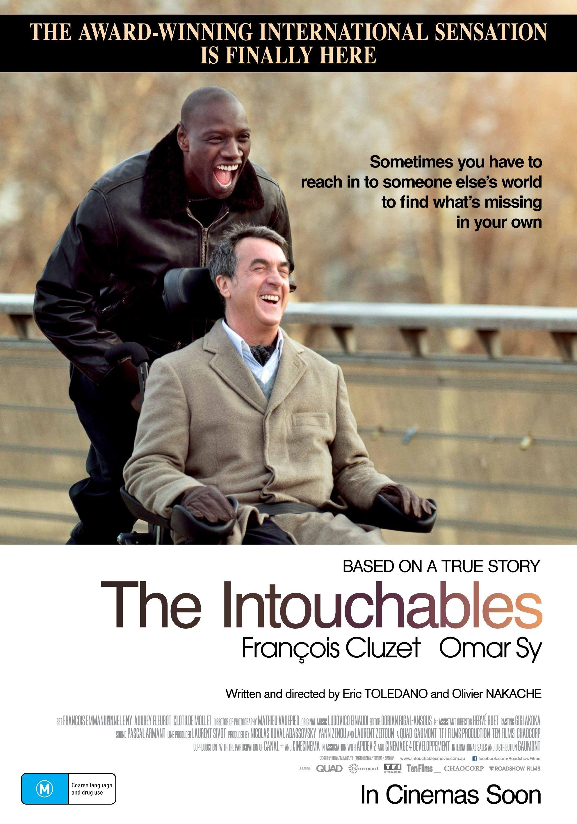 The Best French Movies To Improve Your Understanding Los Intocables Peliculas Francesas Peliculas De Comedia
