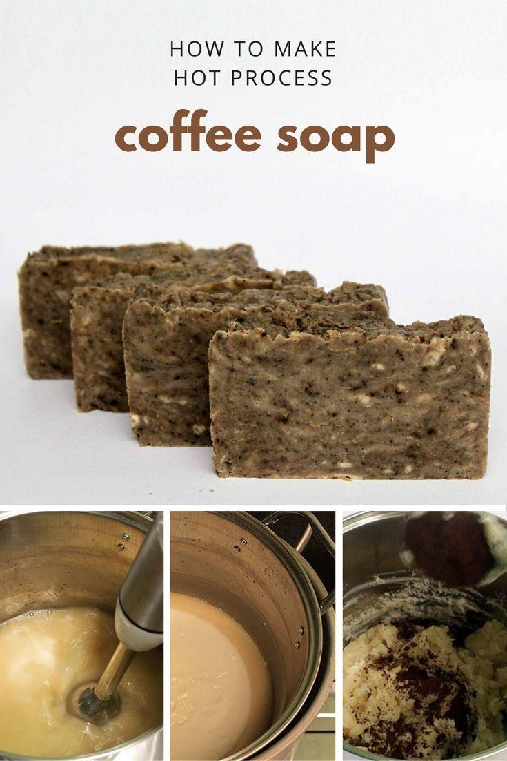 Cara Membuat Sabun Kopi dengan Metode Hot Process Resep