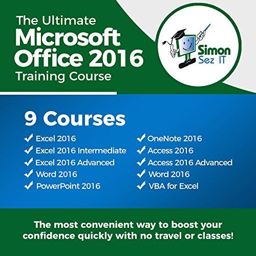 The Ultimate Microsoft Office 2016 Training Bundle: 9-in-1