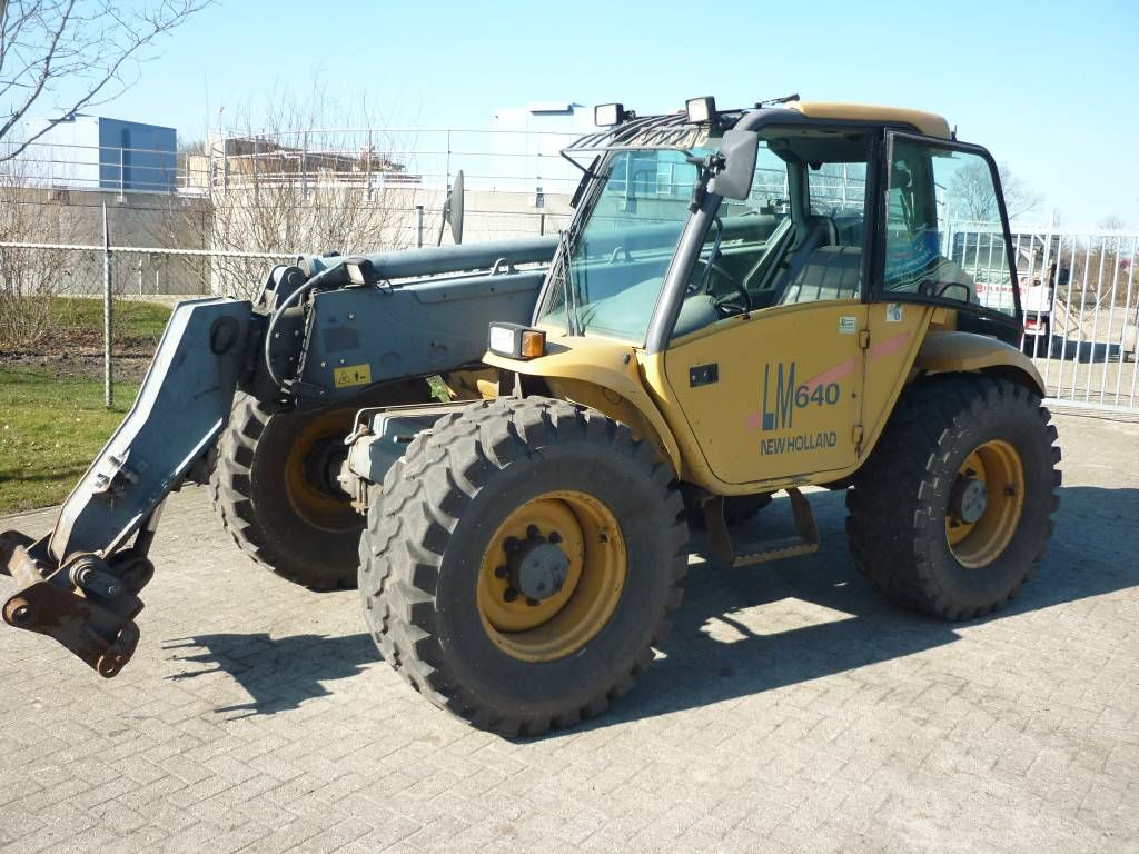 Hydraulic New Holland Lm430 Lm640 Telehandler Repair Service