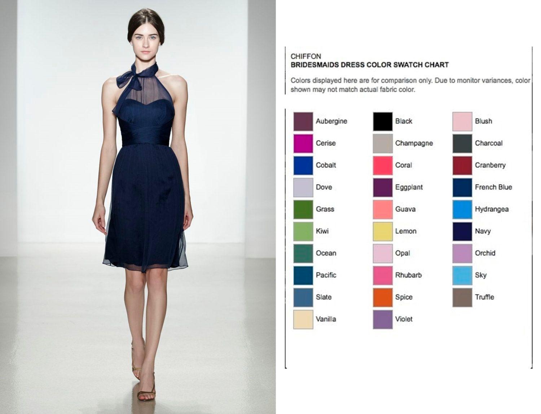 Lila blau Brautjungfer Kleid 30 Farben von kaisdresshop auf Etsy ...