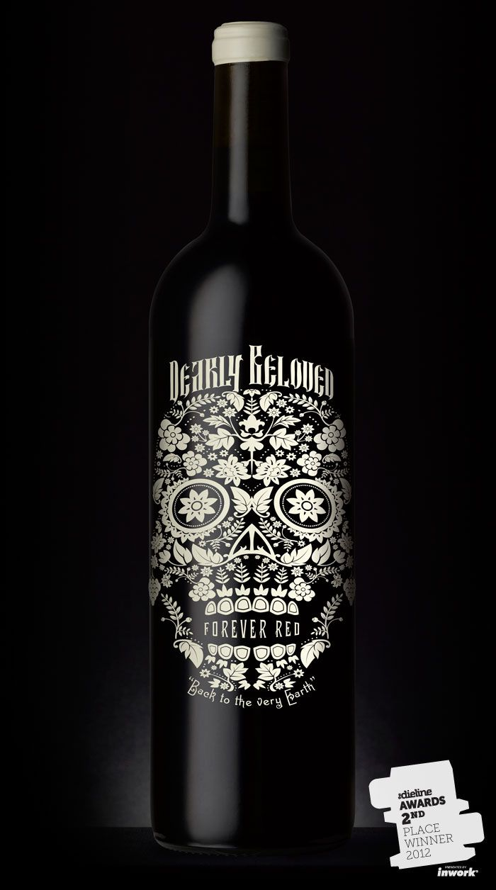 This is a Californian red wine aimed at a younger wine-drinking crowd. We had a name but needed to get away from any marriage connotations. The brief was: do what you like. So we did. Total production was 30,000 cases and it sold out in six weeks. Range extensions are in development now.