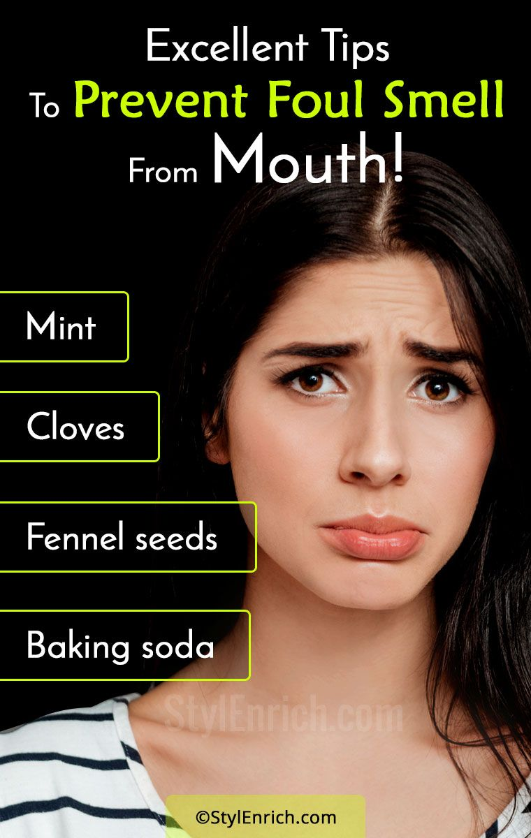 Home remedies for bad breath how to prevent foul smell