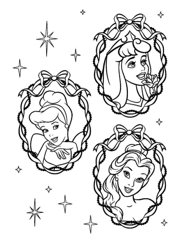 Disney Malvorlagen Dornroeschen Ausmalbilder Comicfigure  Disney