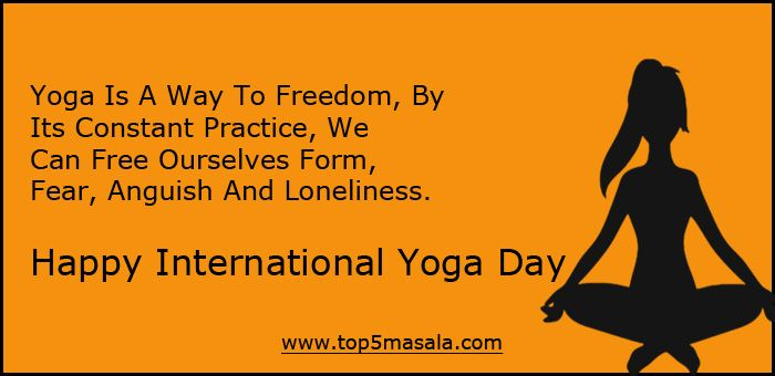 Happy International Yoga Day 2017 Whatsapp Status Quotes