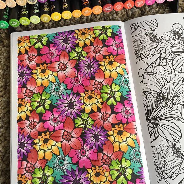 Absolutely Beautiful Colouring Page By Bribustamante Using Their Chameleon Pens Chameleonpens Pen Marker Alcoholmarkers Markerpen Dessin Feutre Chameleon