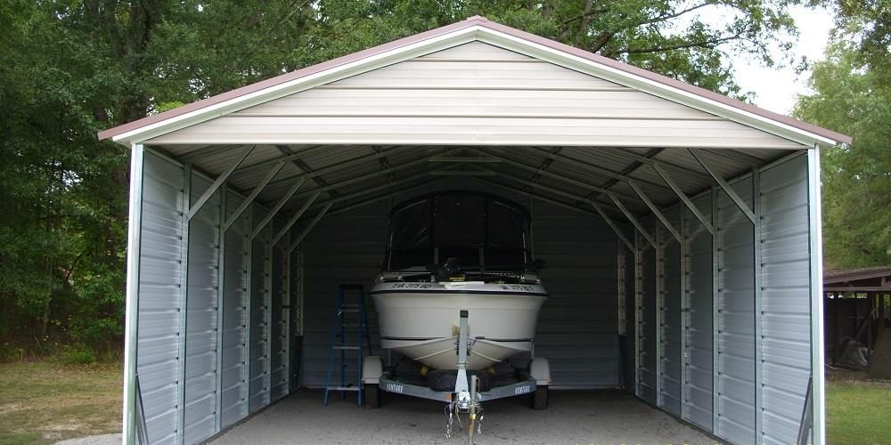 Protect the love of your life with a metal carport via
