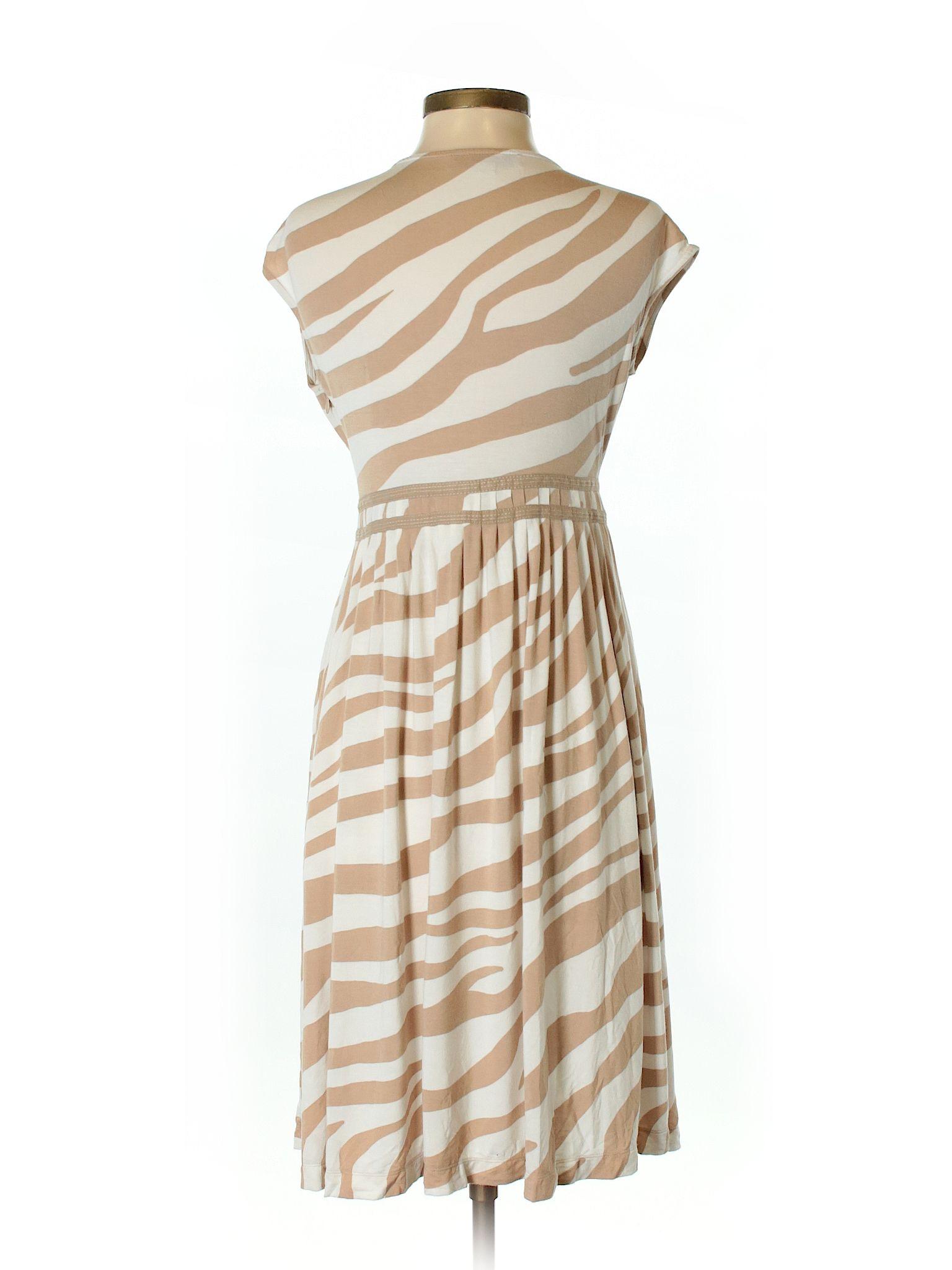 Ann Taylor Loft Casual Dress Size 200 Tan Womens Dresses