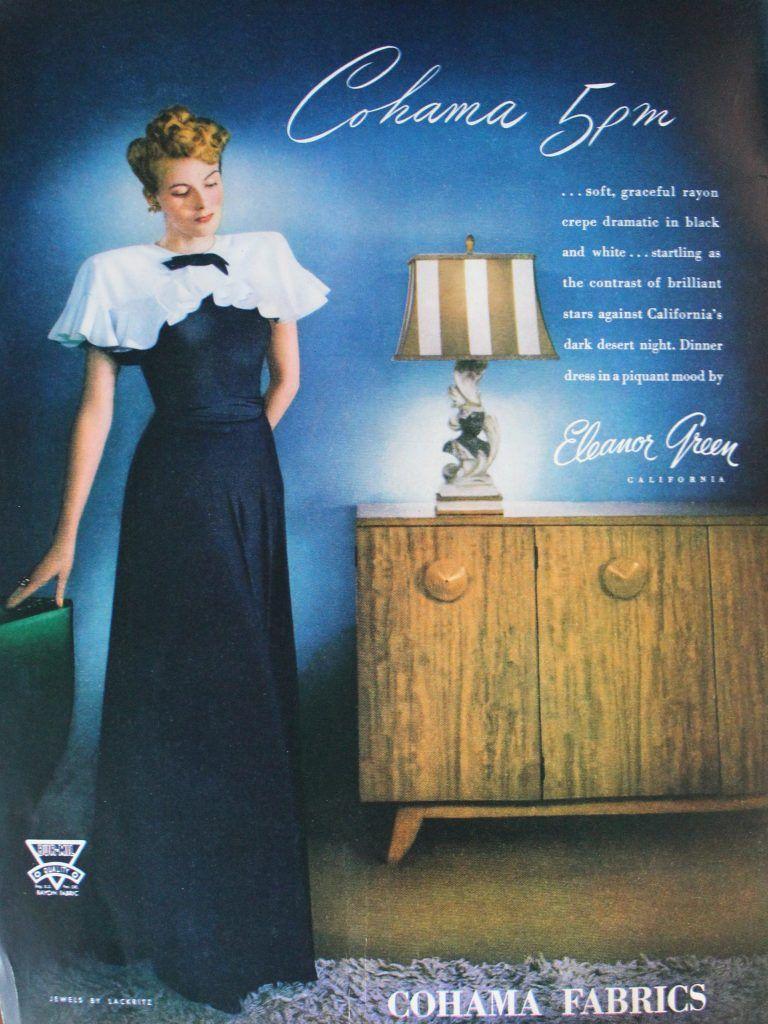 1940s Formal Dresses Prom Dresses Cocktail Dresses History Art Deco Dress Dress History Deco Dress [ 1024 x 768 Pixel ]