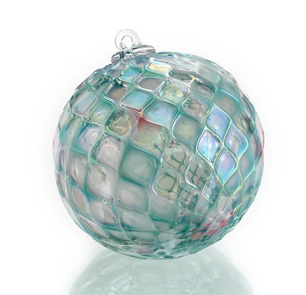 """""""Silent Night"""" #art Glass #ornament By Paul Lockwood. The"""