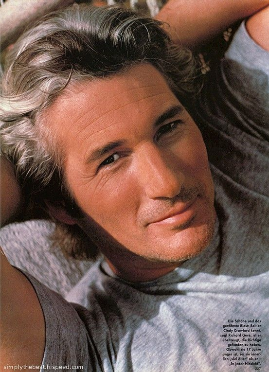 Richard Gere - it\'s the hair color we love, I think by qurain | Gray ...
