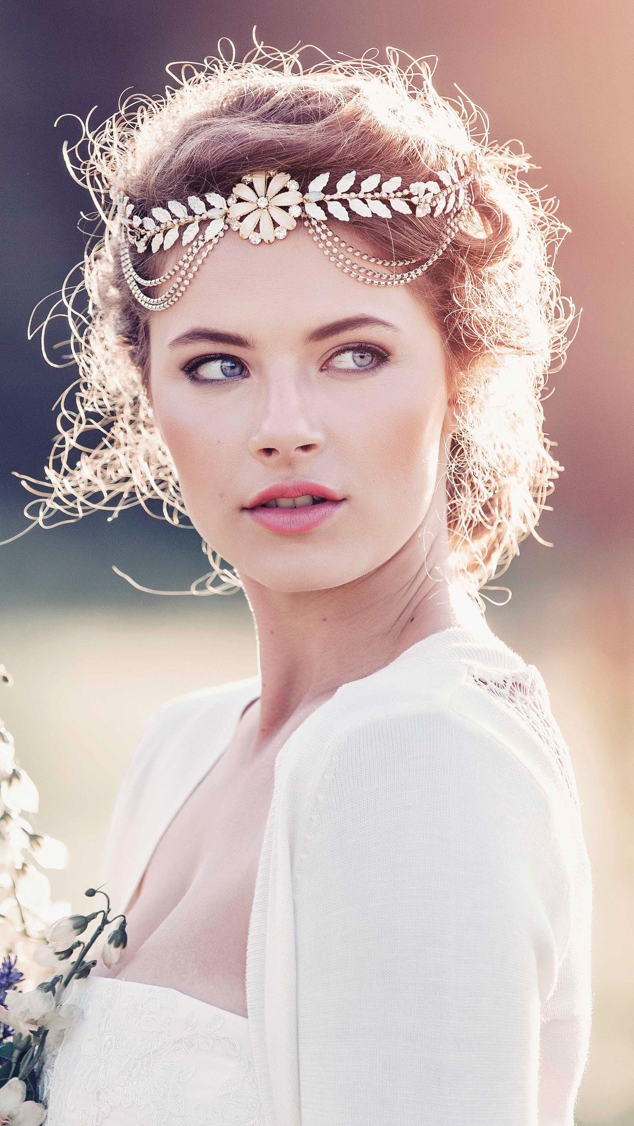 alexandria roman style bridal headpiece #gd1037 | hair