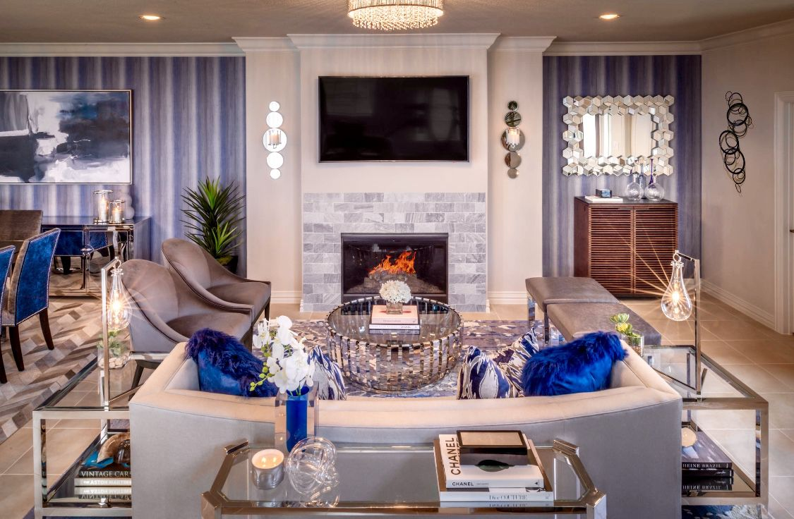 Super Beautiful White And Blue Living Room With Curved Sofa Squirreltailoven Fun Painted Chair Ideas Images Squirreltailovenorg
