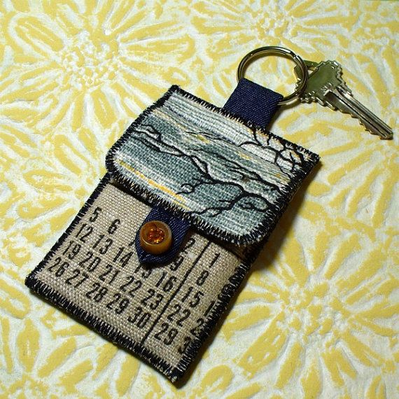 Scrappy fabric keychain with card holder pouch vintage tea towels scrappy fabric keychain with card holder pouch vintage tea towels reheart Gallery