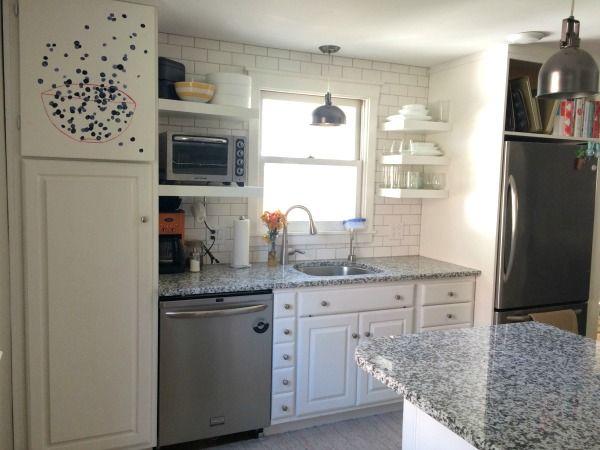 craigslist kitchen after 2   Kitchen layout, House ...