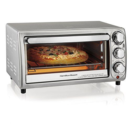 Hamilton Beach 31143 Toaster Oven Silver Best Value Buy On