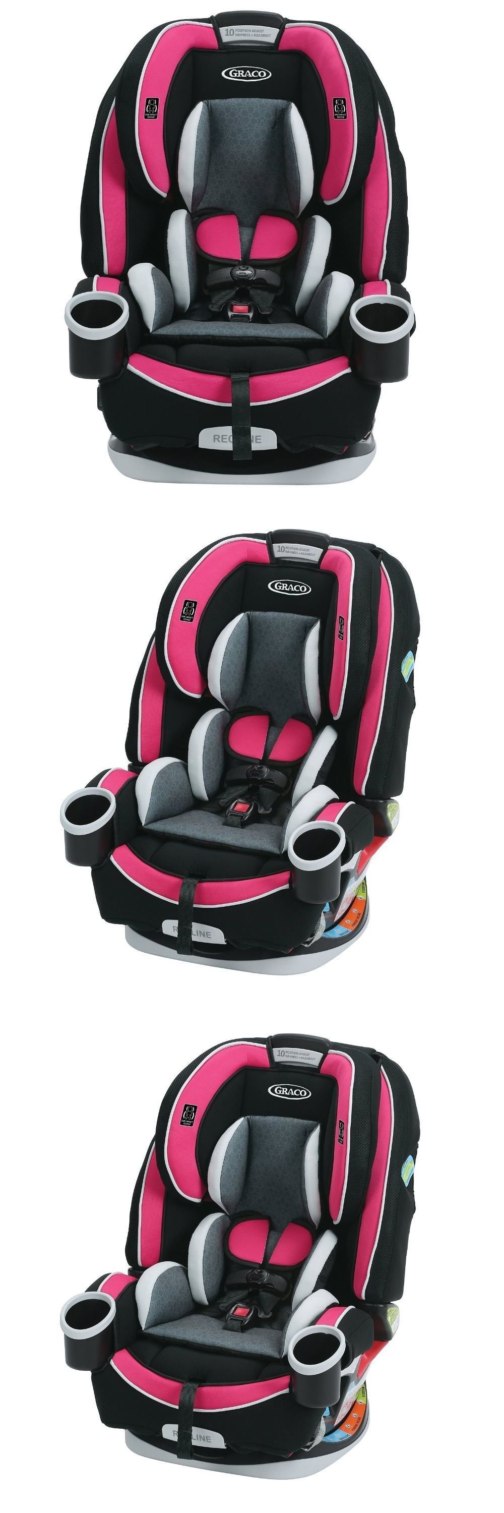 Convertible Car Seat 5 40lbs 66695 Graco 4Ever All In One Azalea BUY IT NOW ONLY 25619 On EBay