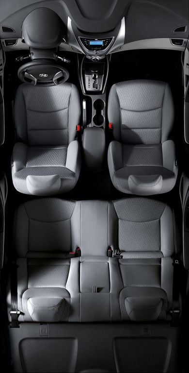 Espacio Interior Hyundai Elantra Elantra Hyundai Elantra Car Interior
