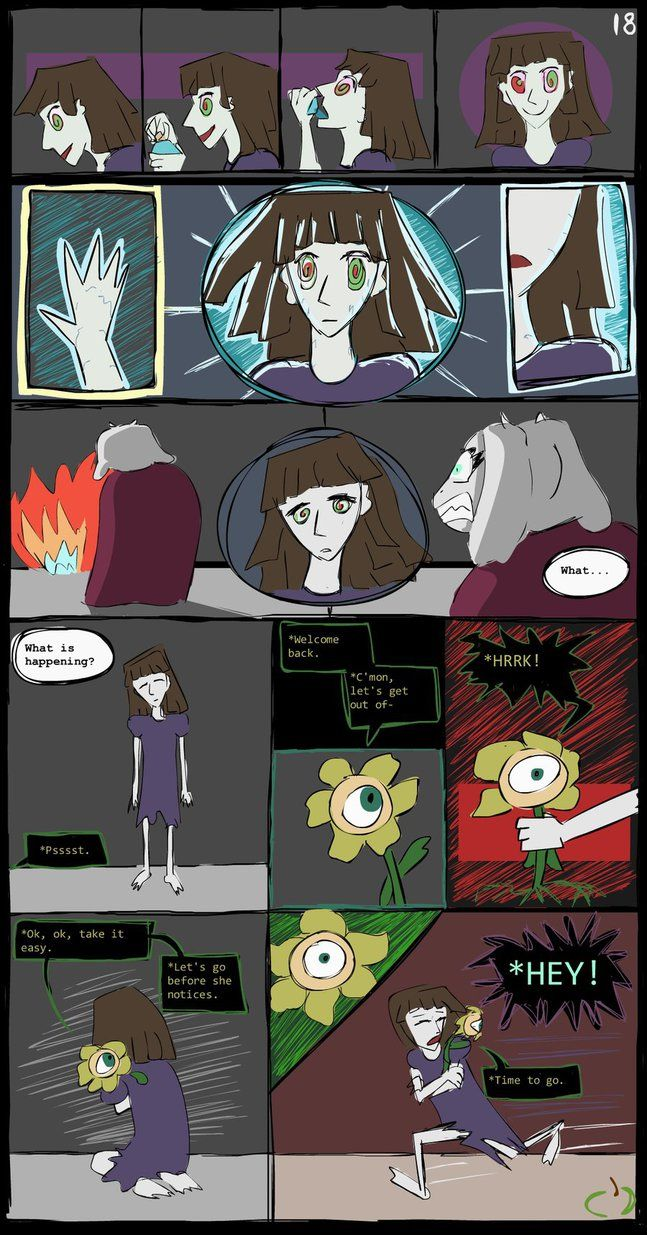 Horrortale Comic 18: Normality by Sour-Apple-Studios.deviantart.com on @DeviantArt
