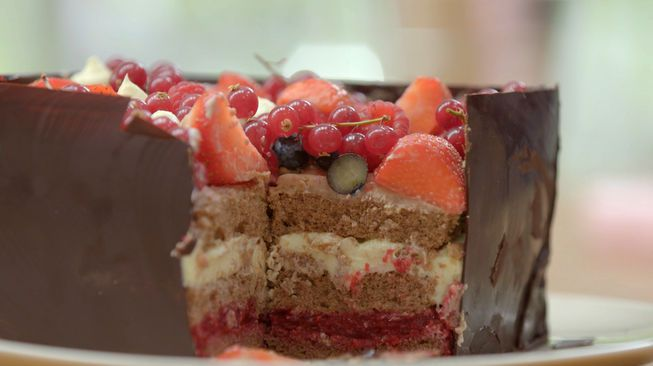 Chocolade box   heel holland bakt - Chocoladeglazuur ...