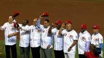 Video: LAD@CIN: The 1975-76 Reds reunite in Cincinnati | MLB.com