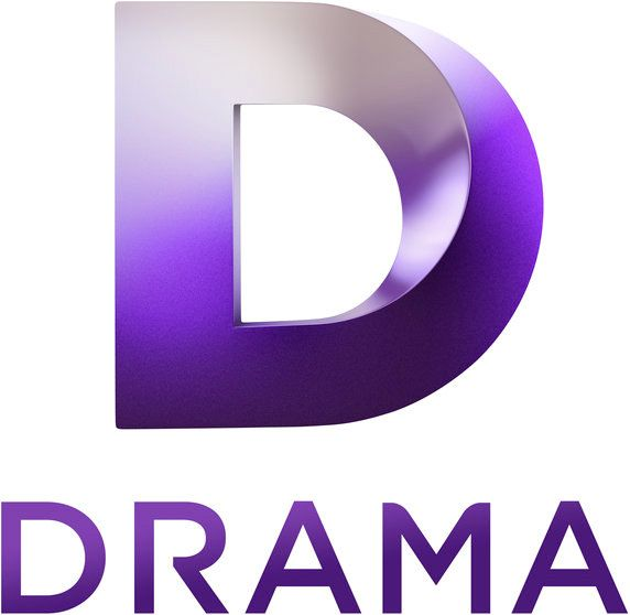 """Brand New: New Logo and Idents for Drama (TV) by DixonBaxi  television channel from UKTV that will focus on the """"best British dramas from a range of broadcasters spanning the last 40 years."""""""