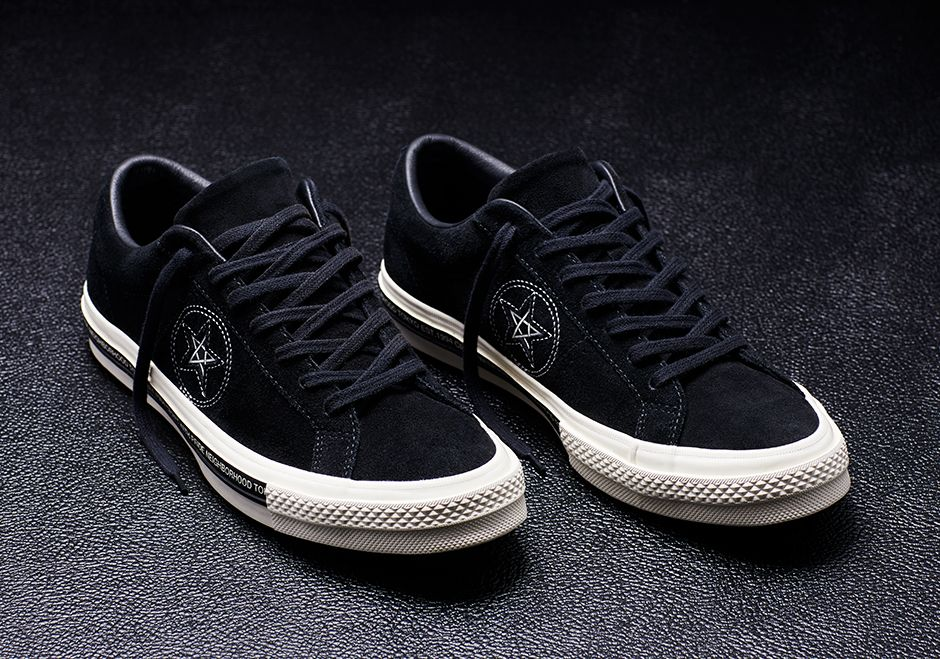 e2d657d278d0 Both of these models from the NEIGHBORHOOD x Converse collab release  tomorrow for the retail price