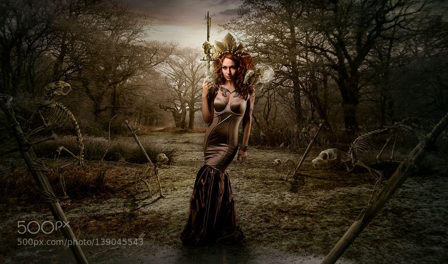 Dea qui Peccatum (Goddess of Sins) by Raven-Art. @go4fotos