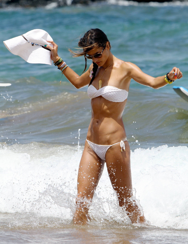 candids bikini Alessandra ambrosio