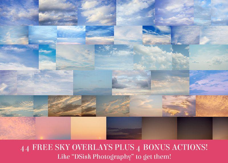 44 FREE Sky Overlays and 4 Bonus Helper Actions