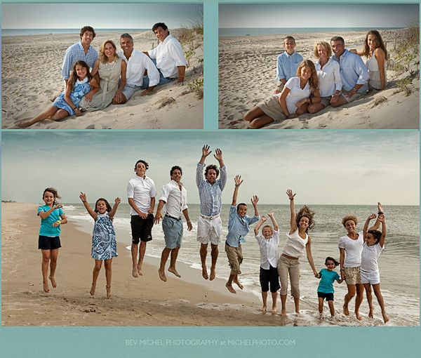 Family Pictures In The Beach: Obx Color Scheme...blue, White, Tan (varying Shades