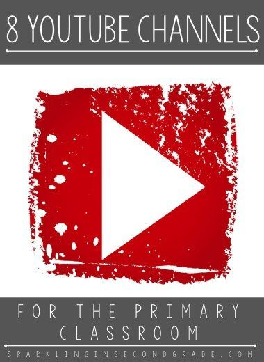 8 YouTube Channels great for the primary classroom! Let your kids dance, sing, and learn with these videos. Great for brain breaks too!