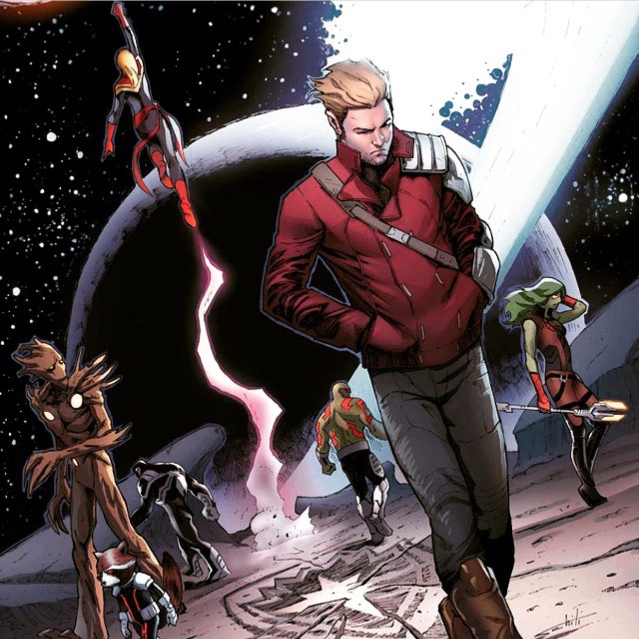 captain marvel guardians of the galaxy