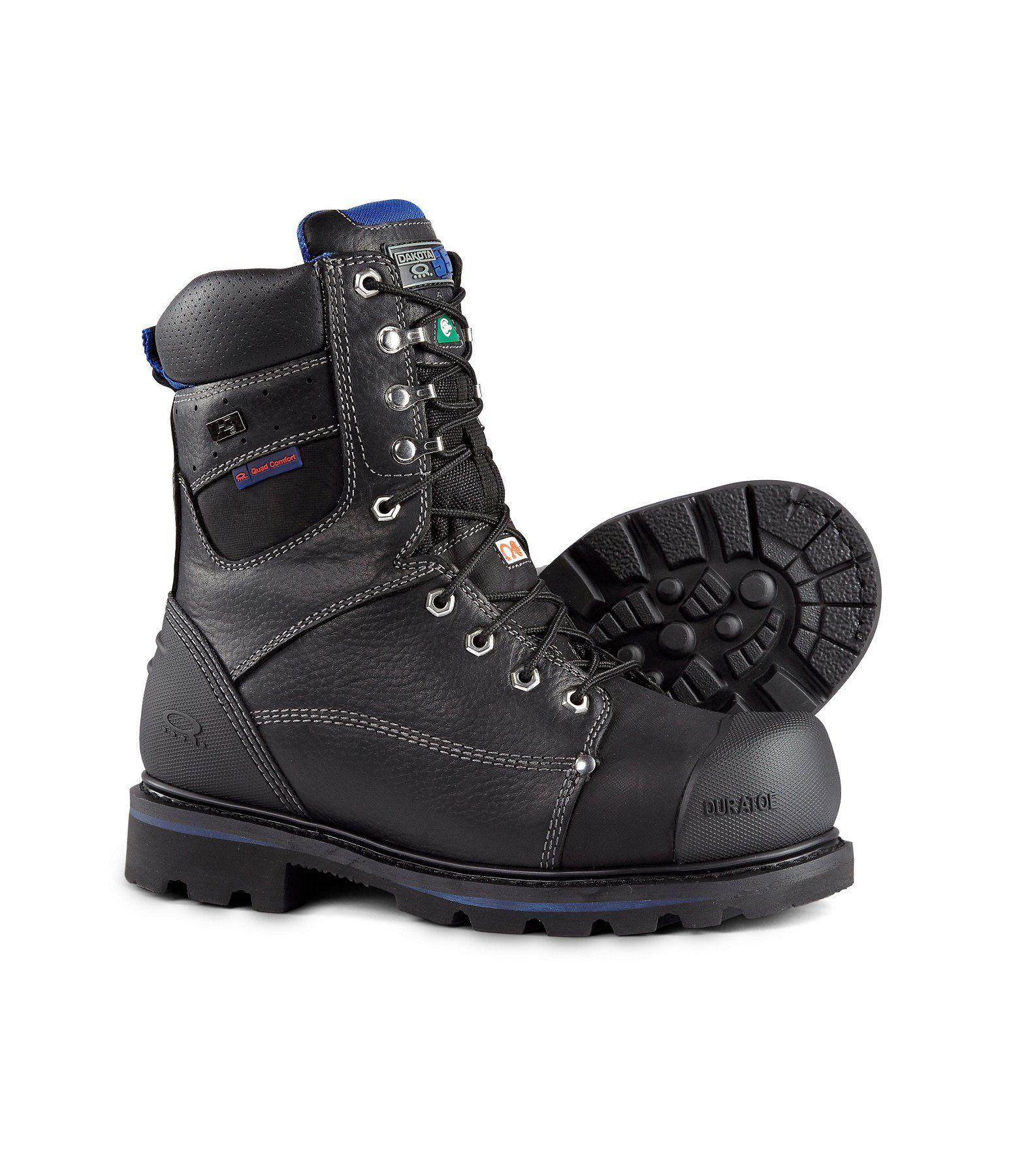faef850dd27 Men's 8'' 557 Waterproof Vibram Steel Toe Composite Plate Work Boots ...