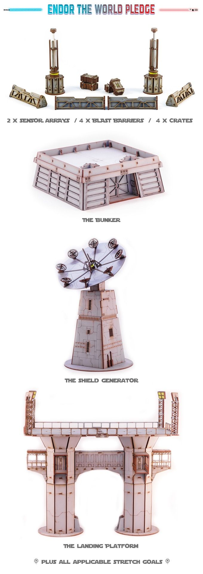 Bringing The Epic Feel Of Endor To Life On Your Tabletop Perfect For The Upcoming Star Wars Legion Miniat Star Wars Awesome Star Wars Diy Star Wars Spaceships