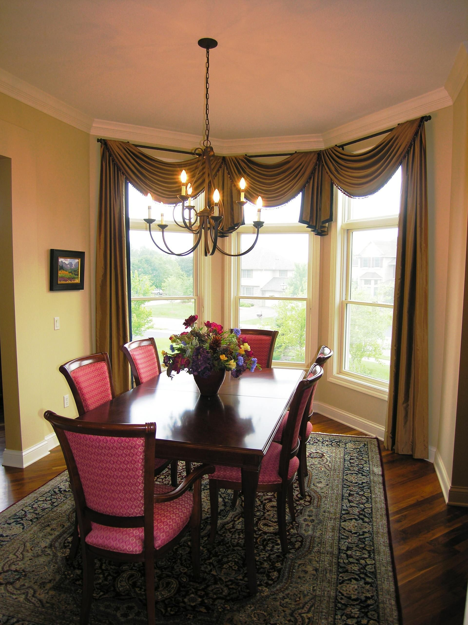 Formal Dining Room Window Treatments In 2021 Dining Room Window Treatments Dining Room Windows Dining Room Small