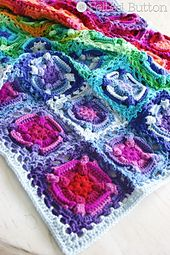 Ravelry: Kaleidoscope Eyes Blanket pattern by Susan Carlson