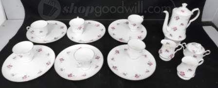 shopgoodwill.com: (16) Princess House Hammersley Fine Bone China