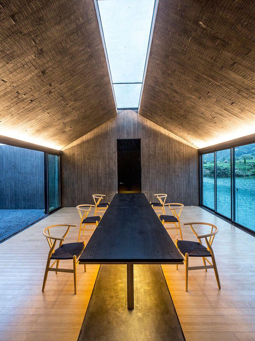 Dna Architecture And Design Casts Concrete Damushan Tea House Interiawwwwe Architecture