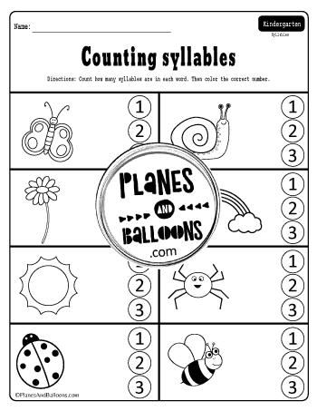 FREE kindergarten review packet pdf - springtime ...