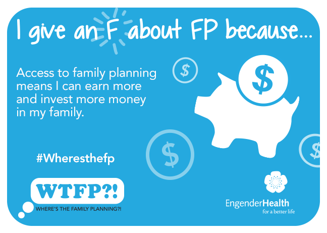 I Give An F About Fp Because Access To Family Planning Means I Can Earn More And Invest More Money In M Family Planning Content Infographic Public Health Nurse