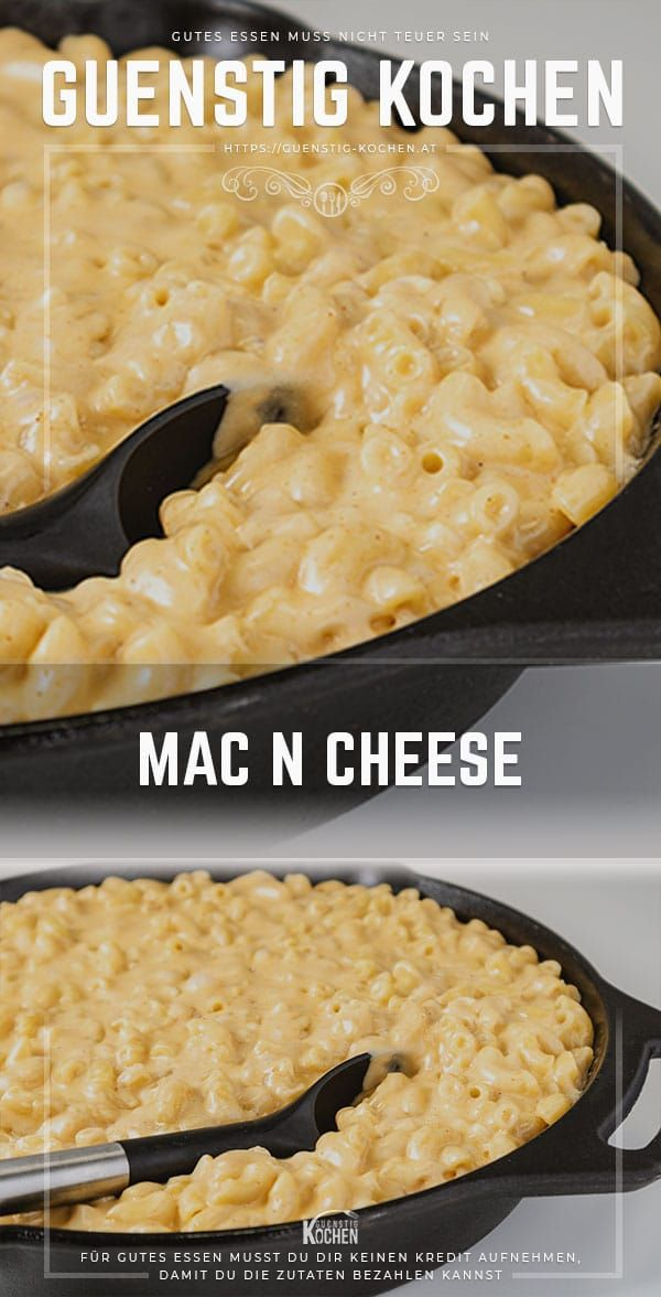 Mac and Cheese der nudelige & käsige US-Klassiker mit 5 Sorten Käse