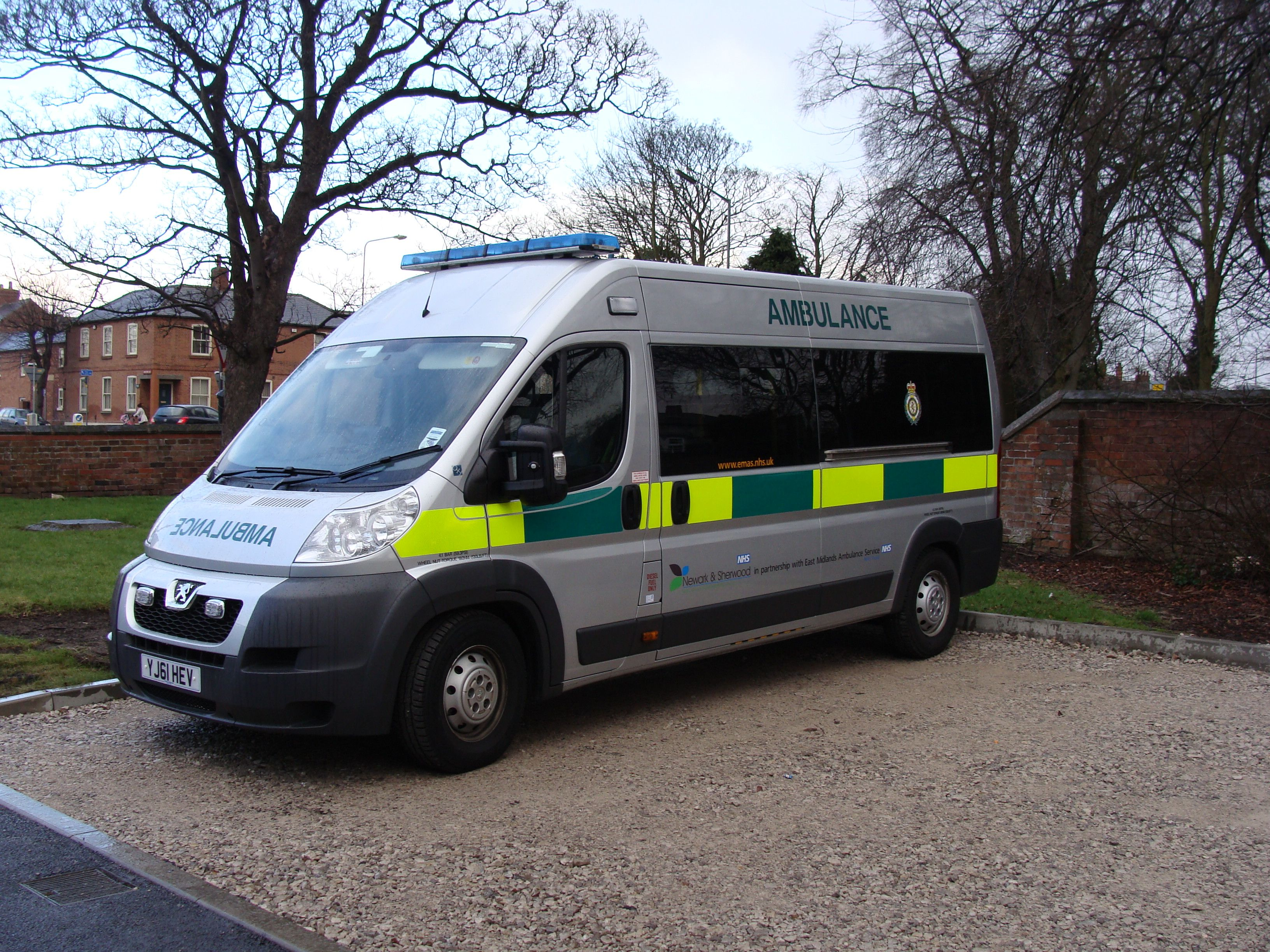 Our urgent care ambulance in partnership with east