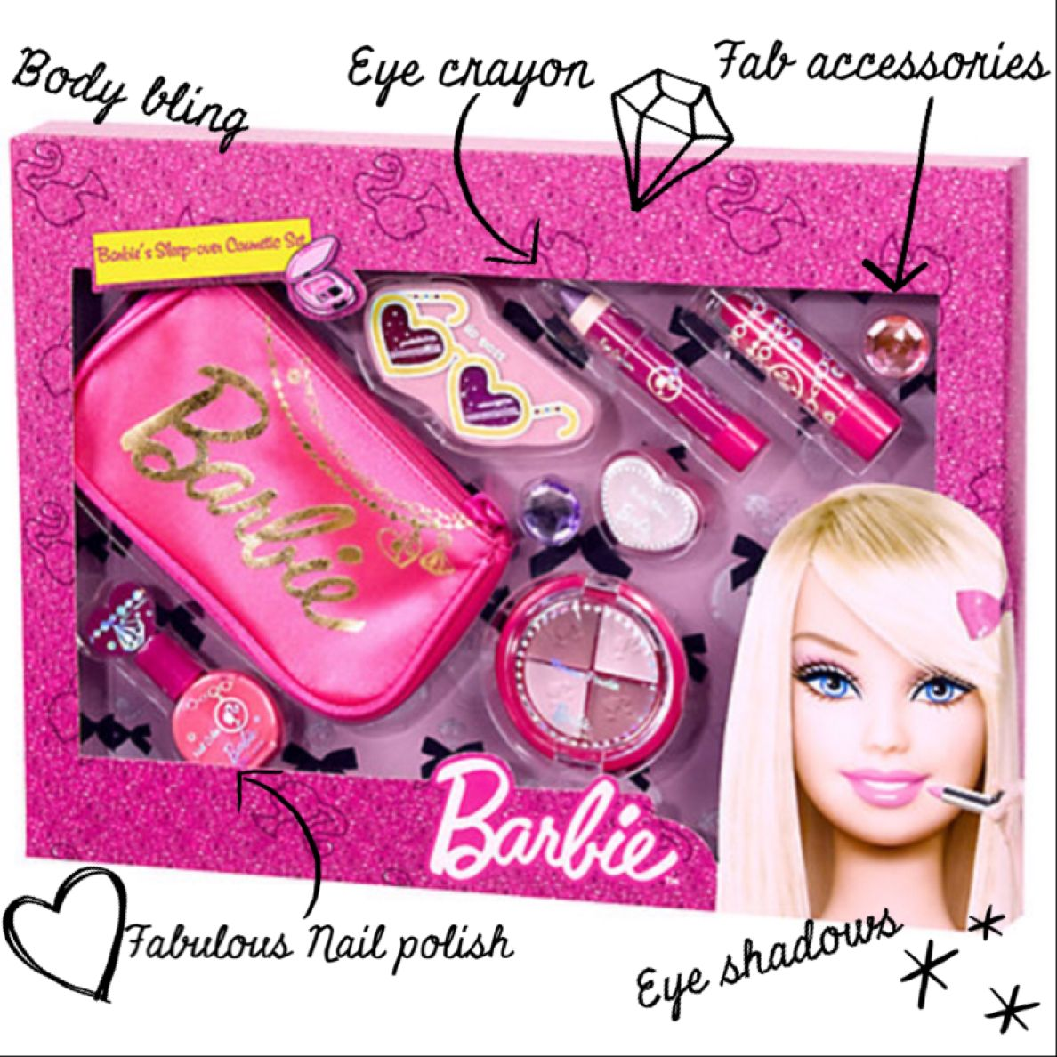 How fabulous is this Sleepver Cosmetic Set?! You can pick