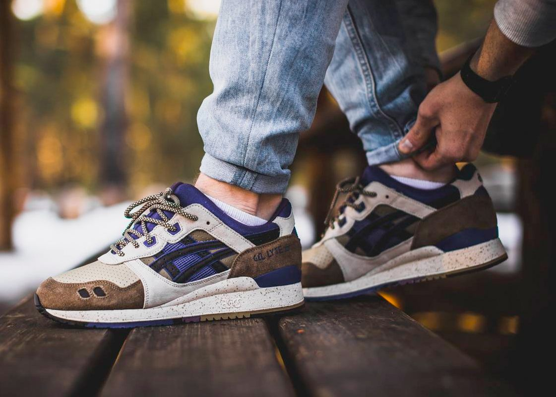Asics Gel Lyte III 'Outdoor Pack' Sample (by frozenbite) Buy from End