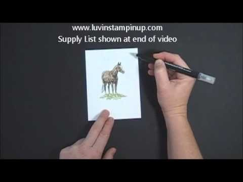 how to use watercolour pens