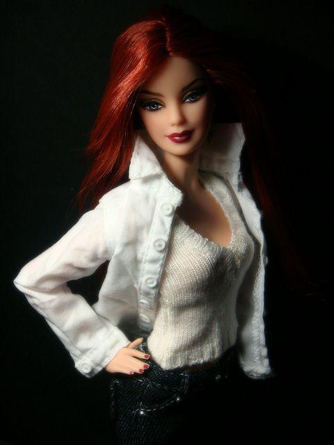 Ginger Barbie ~ & I don\'t mean \