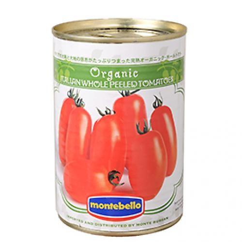 イタリアの有機認証団体認定!「モンテベッロ・有機ホールトマト」