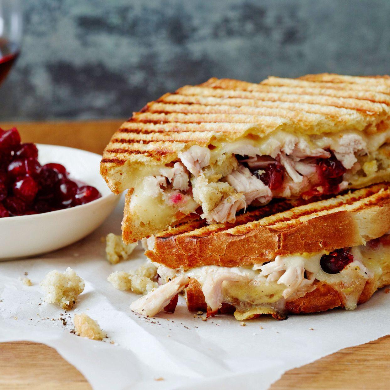 Leftover thanksgiving panini recipe food network